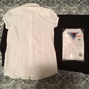 Tommy Hilfiger Shirts & Tops - Short sleeve school uniform shirt